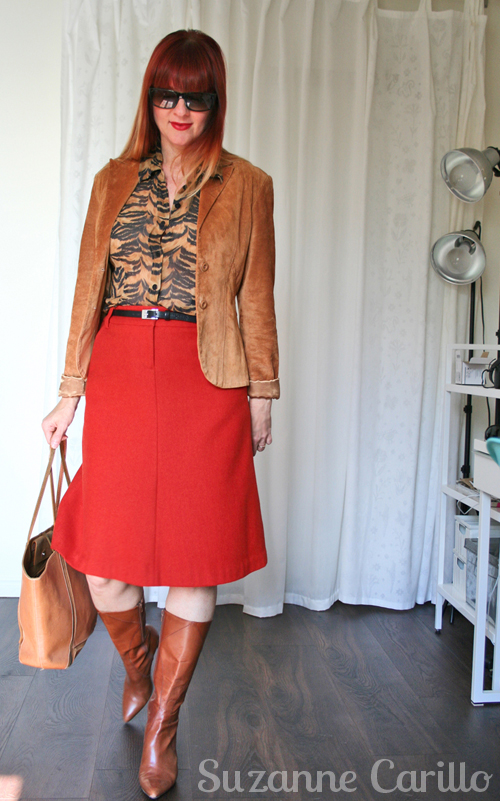 How to wear animal prints after 40