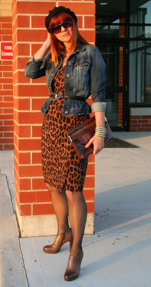 How to style animal print trend.