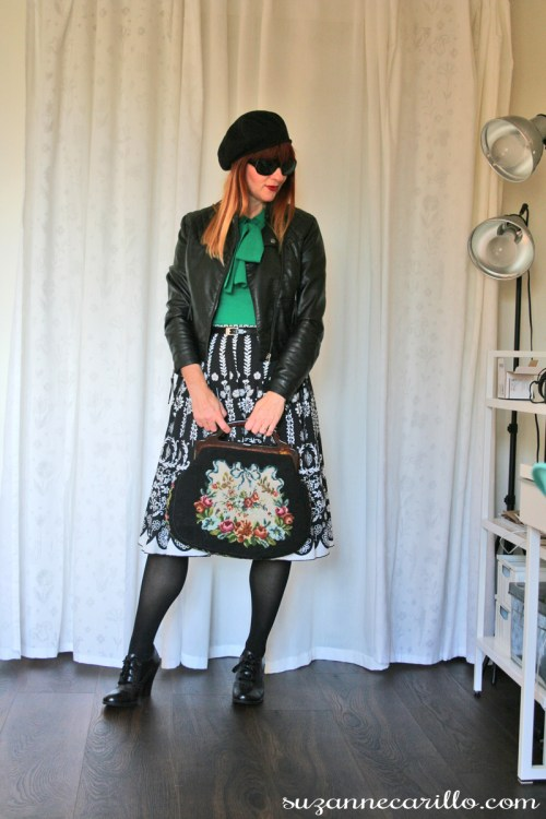 mixing old with new how to style a vintage handbag contemporary