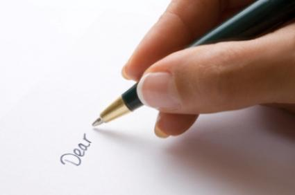 Write a letter this Christmas to someone you love.