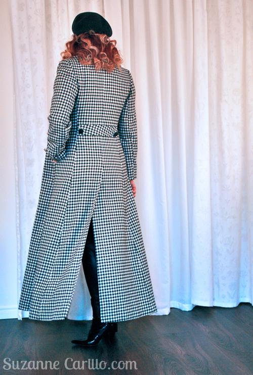 vintage floor length peter weber coat