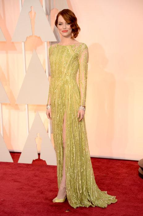 Emma Stone Oscar dress 2015