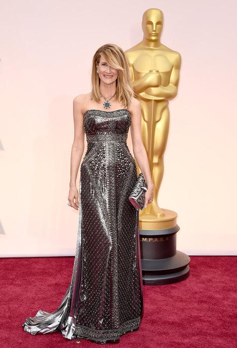 Laura Dern Oscar dress 2015