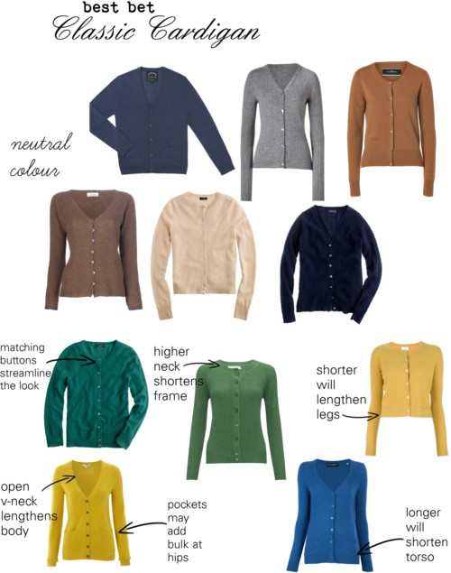 How to choose the right cardigan