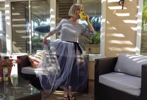 Connie Snow Tulle Skirt