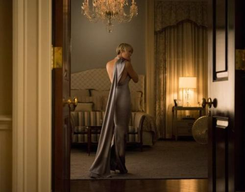 Claire Underwood House of Cards monochromatic style