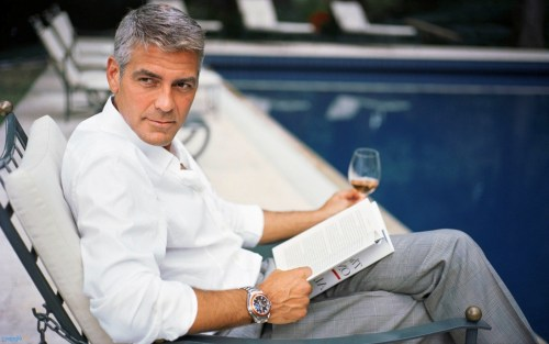 George Clooney your personal wardrobe cleaning assistant