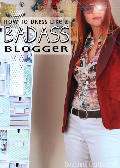 how to dress like a badass blogger over 40