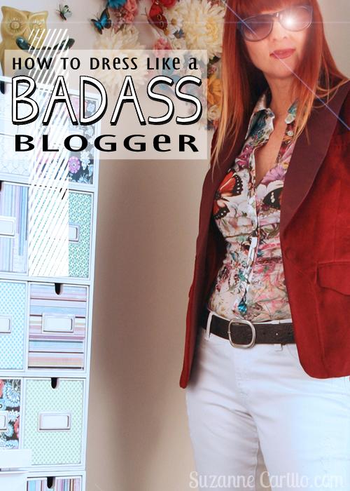 how to dress like a badass blogger over 40