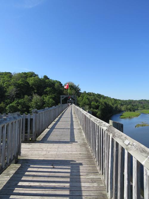 Goderich bridge Ontario CANADA