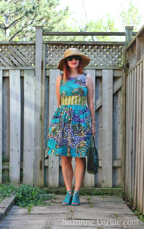 how to wear a fit and flare dress over 40