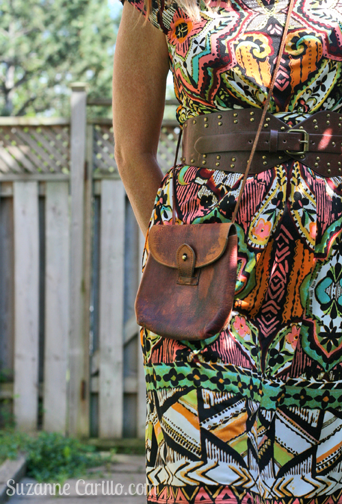 how to wear patterns when you are petite