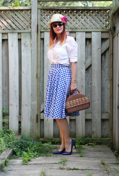 vintage inspired retro outfit for summer