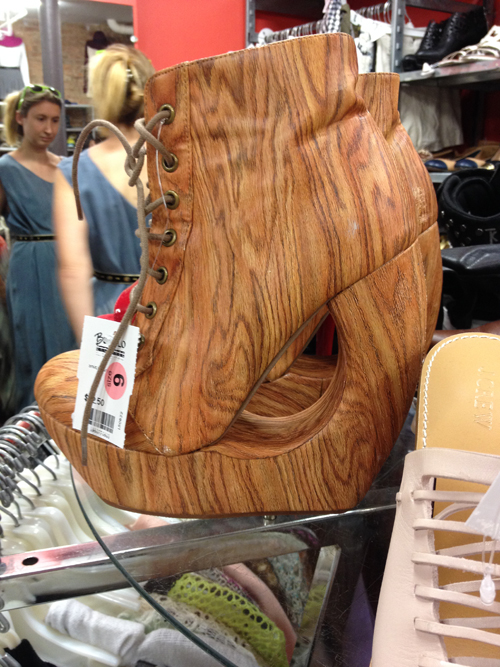 wooden boots nyc