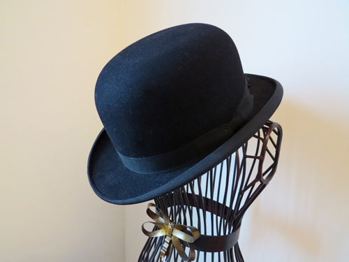 vintage bowler hat suzanne carillo