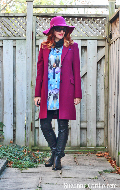tunics paired with over the knee boots