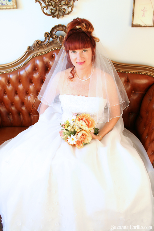 wedding dress over 40 style suzanne carillo
