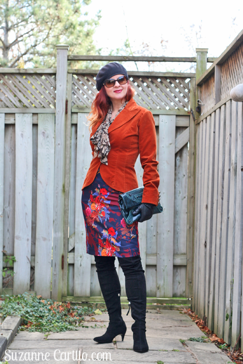 how to dress in bold colours over 40 suzanne carillo