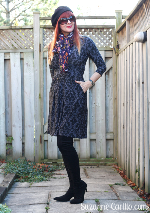 how to layer a karina dress for the holidays suzanne carillo over 40 style