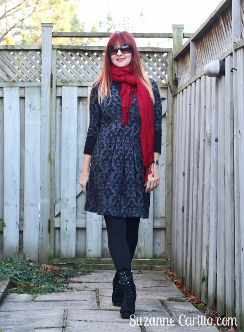 how to wear a karina dress for a holiday party suzanne carillo over 40 style