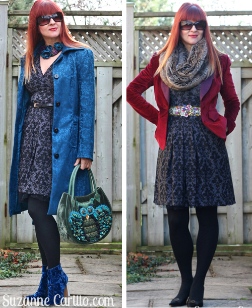 Karina dress styled three ways