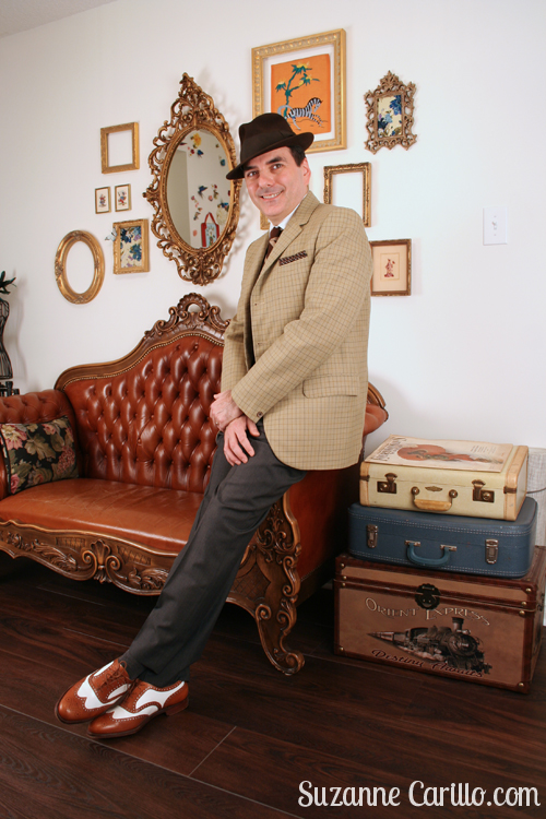 how to dress 1940s style for men suzanne carillo