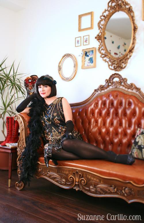 1920s party costume suzanne carillo