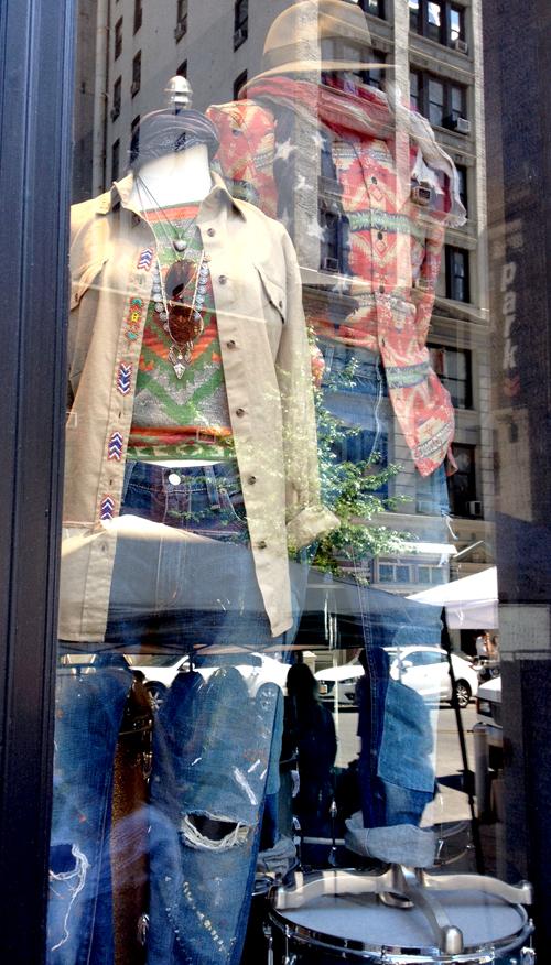 ralph lauren window display nyc