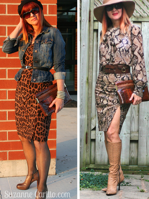 wearing animal prints over 40 with style