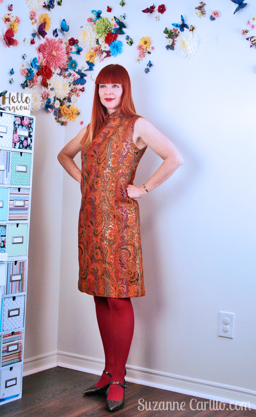 how to wear a-line dress over 40 suzanne carillo