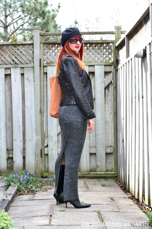 wear a fitted maxi pencil skirt over 40 suzanne carillo