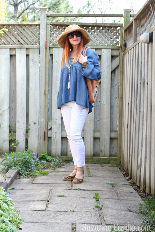 how to wear white jeans and denim for summer over 40 style for women suzanne carillo