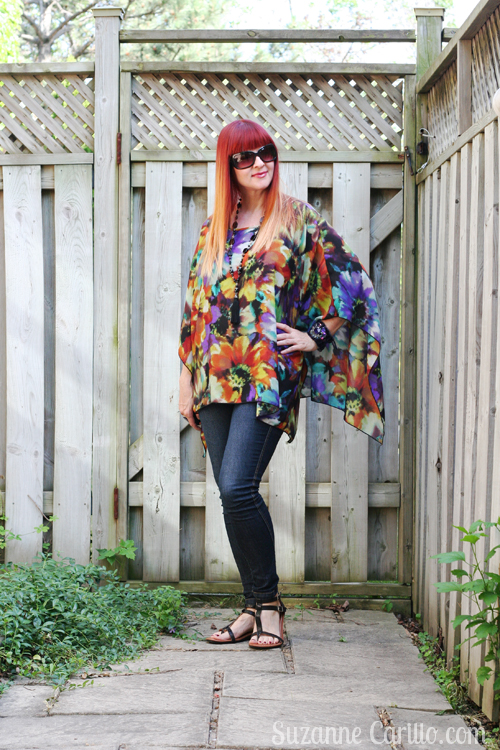 wearing a poncho in summer how to wear a poncho over 50