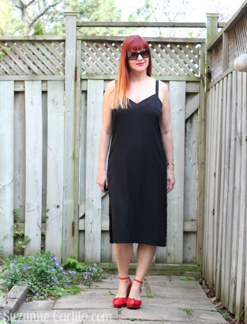 slip dress style trend over 40 style for women suzanne carillo