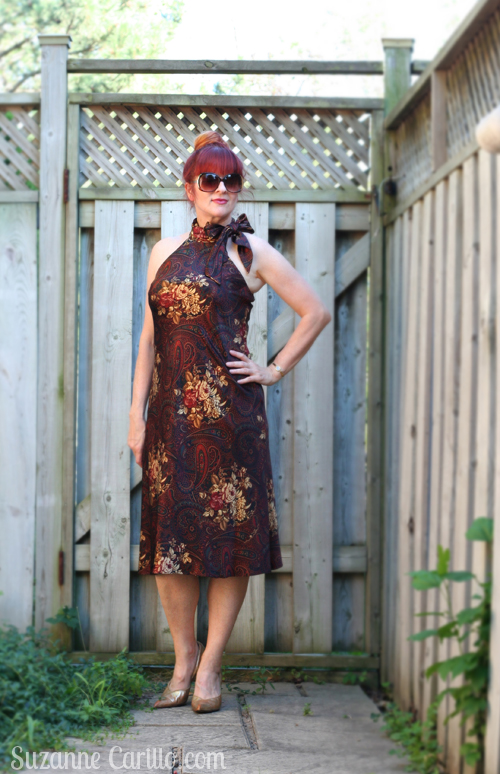 thrift shopping top tips for quality treasures suzanne carillo ralph lauren silk dress style over 40