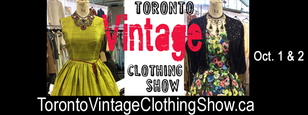 Toronto Vintage Clothing Show 2016