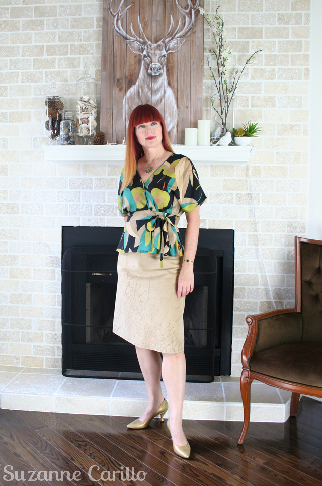 suede-skirt-and-silk-blouse-suzanne-carillo-style-over-40