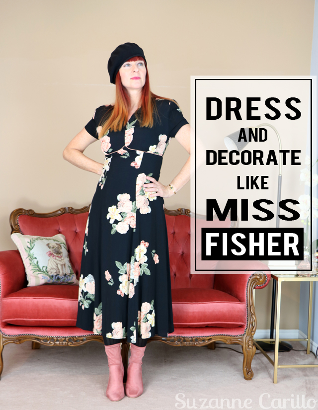 Dress, decorate Miss Fisher Style