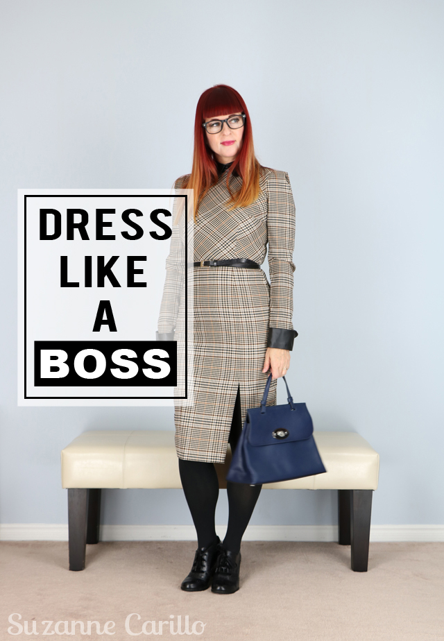 Dress Like a Boss over 40 style suzanne carillo