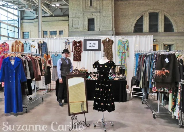 Toronto Vintage Clothing Show 2016 Vintage by Suzanne