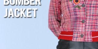 DIY Embroidered Bomber Jacket