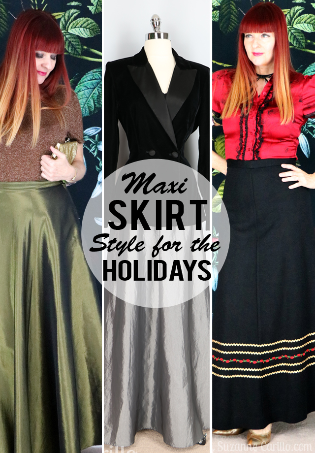 Festive Holiday Maxi Skirt Style For Women Over 40 Suzanne Carillo