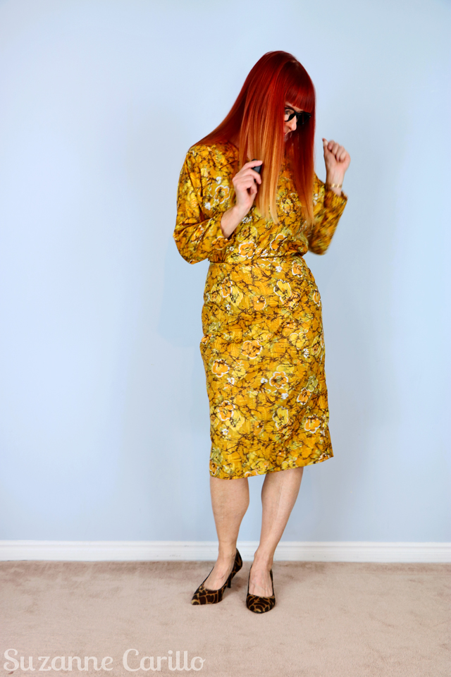 vintage-1950s-yellow-gold-dress-handmade-vintage-for-sale-on-etsy-vintagebysuzanne