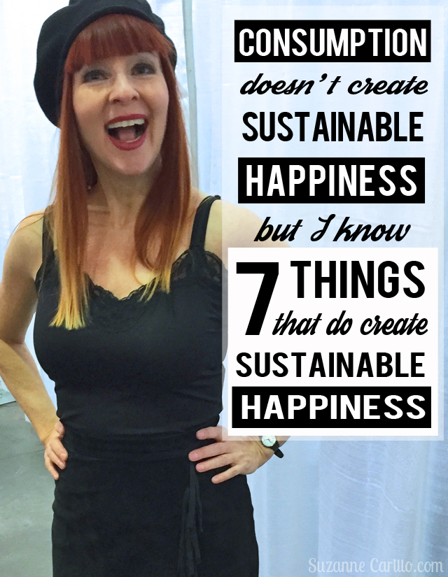 Cultivating happiness by choosing experiences over things. How to create sustainable happiness in your life