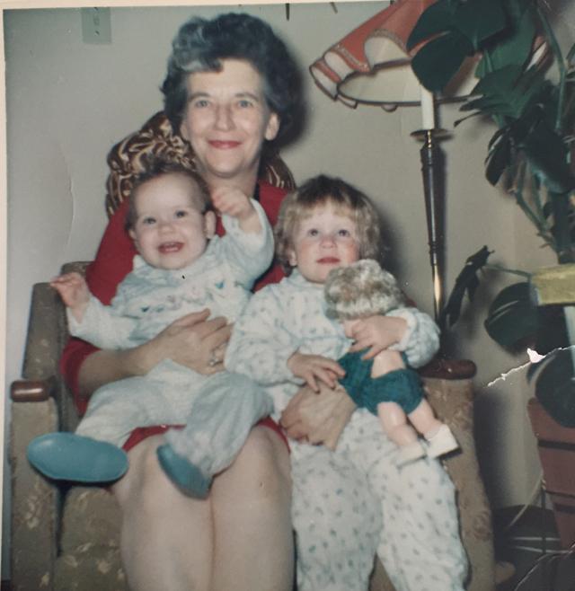 Grandma of Christmas Past