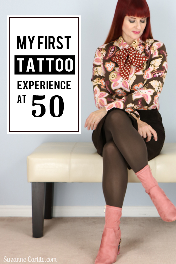 my experience with permanent eye makeup. my first tattoo at 50 suzanne carillo
