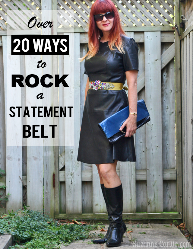 over 20 ways to rock a statement belt