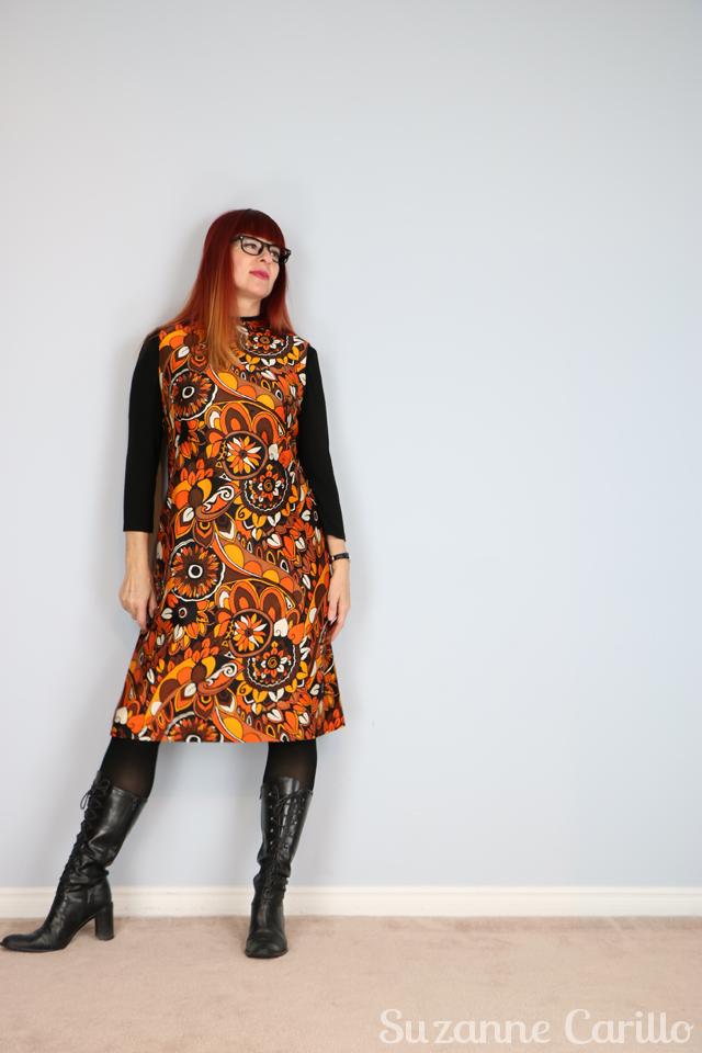 vintage 1960s bold patterned aline dress for sale vintagebysuzanne on etsy buy now