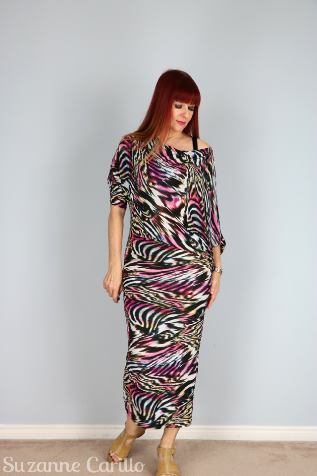 bold print body con dress what to wear on vacation in the evening suzanne carillo