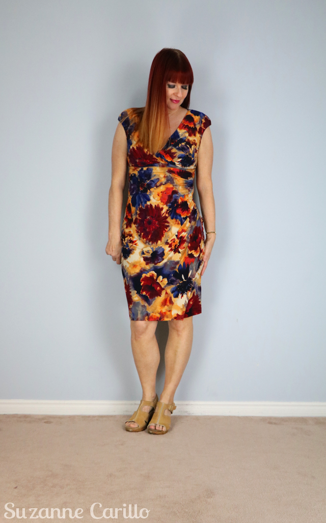 what to wear on vacation in the evening suzanne carillo floral body con dress